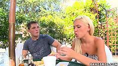Kacey Jordan, a lovely blonde with a sexy slender body, enjoys romance and intimacy